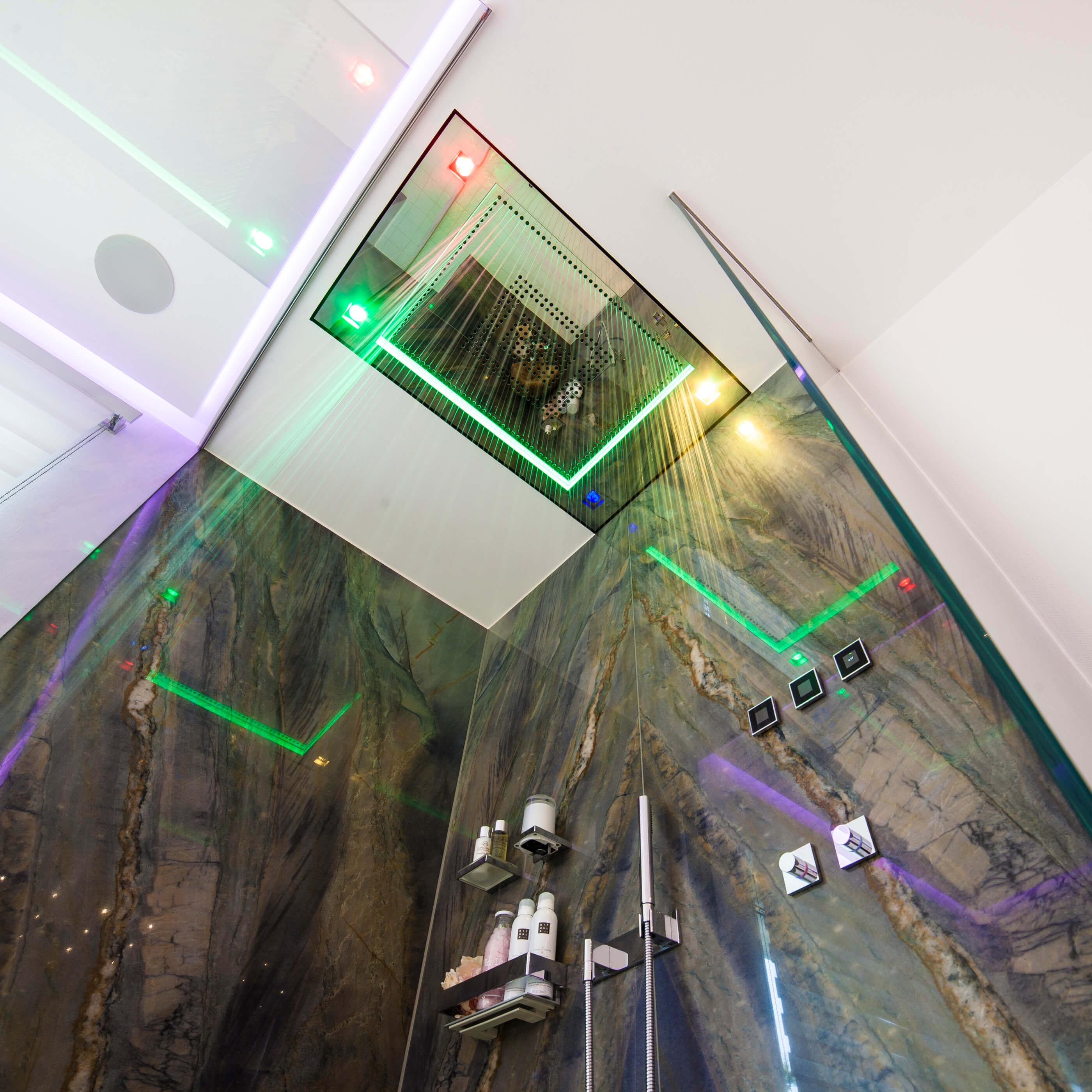 Gallery Of Luxusdusche Sensory Sky Att With Luxus Dusche