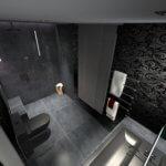3D VISUALISIERUNG Badgestaltung Torsten Mueller Minimalistische Badezimmergestaltung exklusive Badkonzepte Spezialist luxus Designbaeder Design im Bad