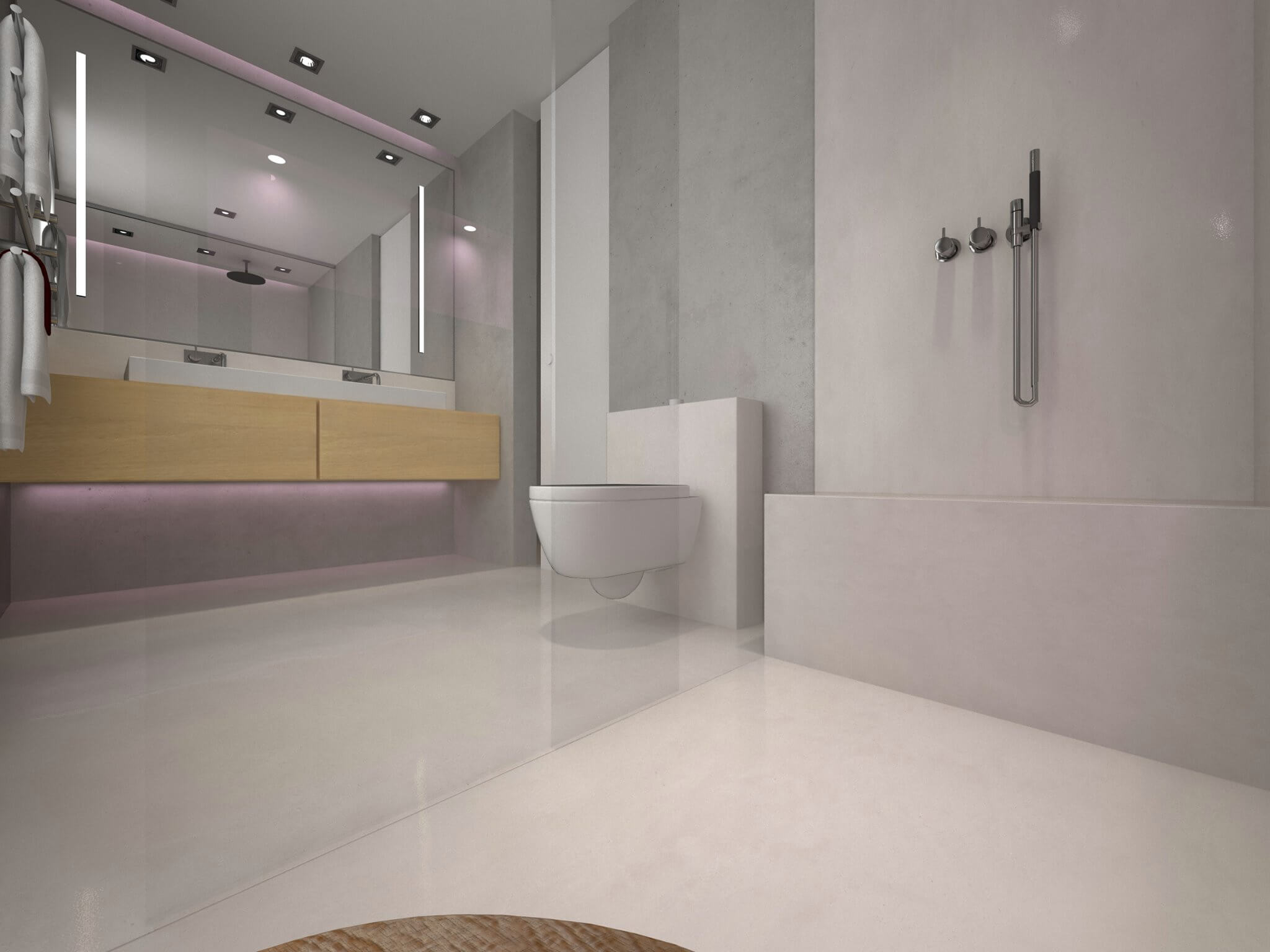 Masterbad Weisses Badezimmer Design Mit Dusche Design By Torsten Mueller  Aus Bad Honnef Naehe Koeln Bonn