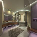 Badplanung 3D Visualisierung Gaeste WC Toilette sicis mosaic falper designer Torsten Mueller Bad Honnef naehe Bonn koeln