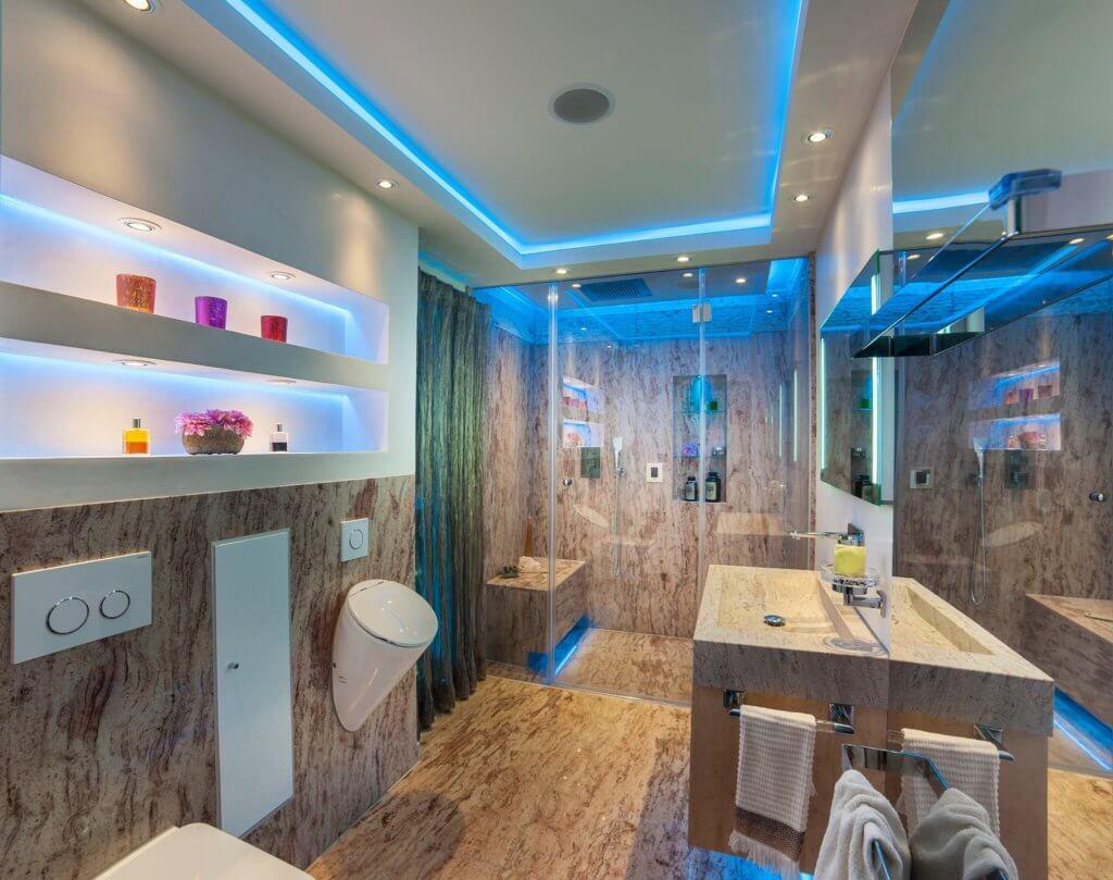 wellness und spa oase für ihren wohlfühlurlaub im beengten badezimmer, Badezimmer ideen