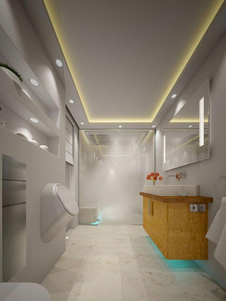 3D Visualisierung Professionelle Fotorealistische High End 3D  Visualisierung Für Architektur, Innenarchitektur Und Produktdesign  Dampfdusche