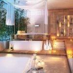 Wie wird aus einem einem freien Raum ein Ort der entspannung? Die besten Tipps für Einrichtung, Farbgestaltung und Sanitär im Wellness-Badezimmer.