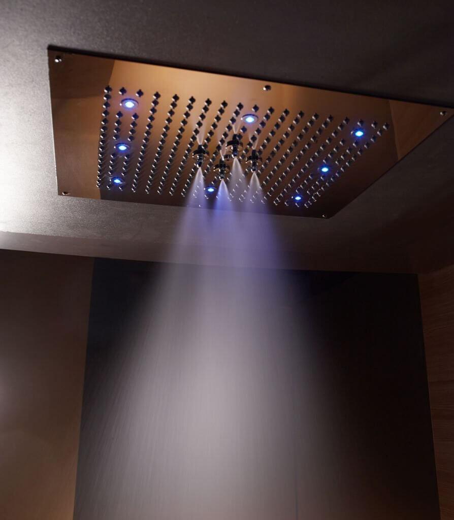 regendusche mit der richtigen dusche fängt der tag richtig an ✓ - Regendusche Led