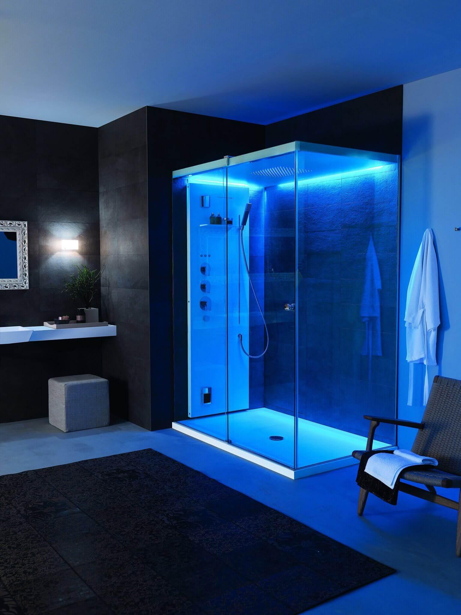 Premium Regenduschen in der badplanung