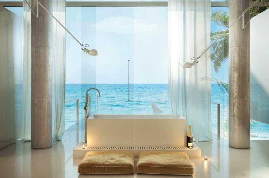 Mediterrane Bäder ►das Typisch Italienische Lifestyle✓ Des ... Das Moderne Badezimmer Wellness Design