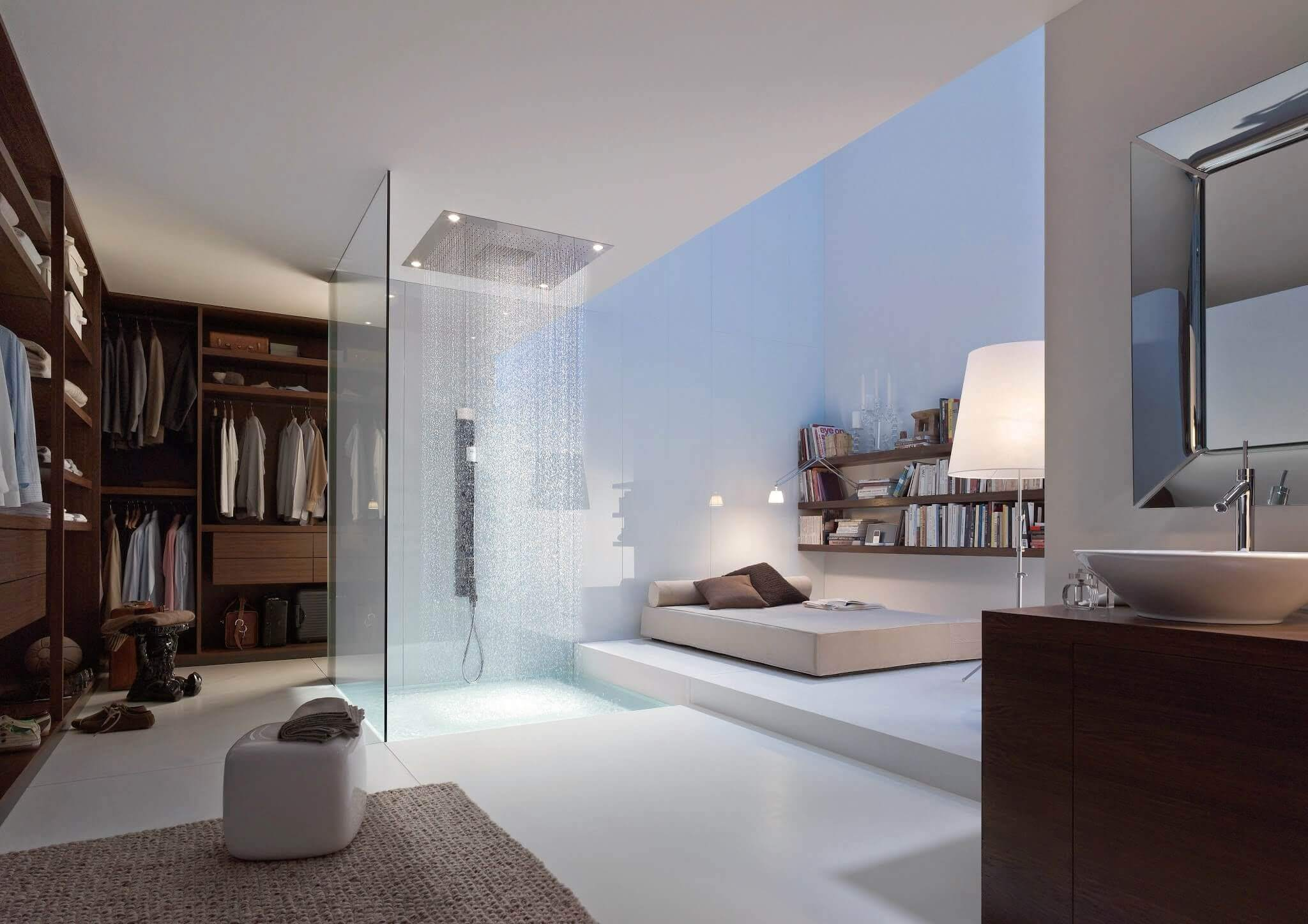 Luxusbäder Die Begeistern Schlafzimmer Und Badezimmer Kombiniert