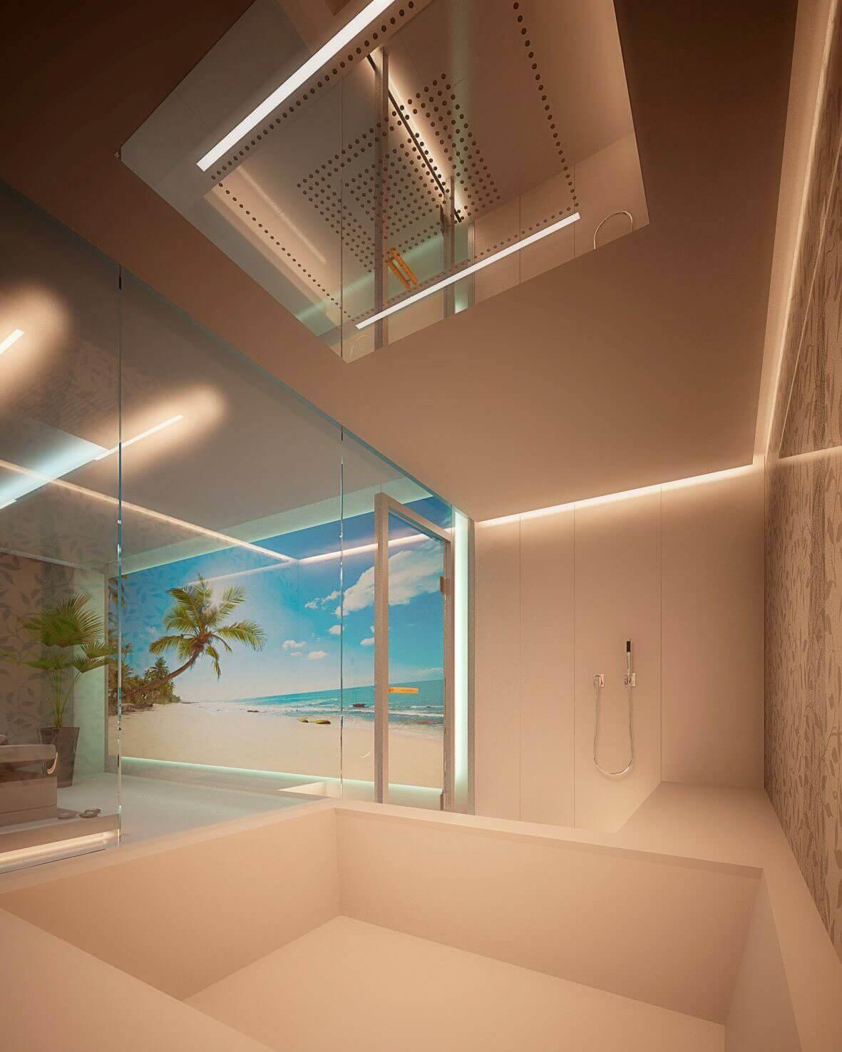 Der Tag beginnt bei vielen unter der Dusche. Hier im individuellen Badambiente wacht man auf, geht die Pläne für den Tag im Kopf durch und sammelt Energie für die Herausforderungen des AlltagsUnter einer modernen Regendusche, die ebenerdig hinter einer Duschabtrennung Glas montiert ist und damit zu den exklusivsten Badezimmer Trends zählt, lässt es sich noch besser in den Tag starten. 3D VISUALISIERUNG Emotionsstarke Bilder, die Sie Ihr künftiges Bad hautnah erleben lassen. Freuen Sie sich auf Ihre Architekturvisualisierung bzw. Renderings-Visualisierungen. Wir nutzen die besten 3D Artisten, um fotorealistische Bilder anzubieten. Naturstein, Fliesen und Wandbearbeitung werden so erlebbar.