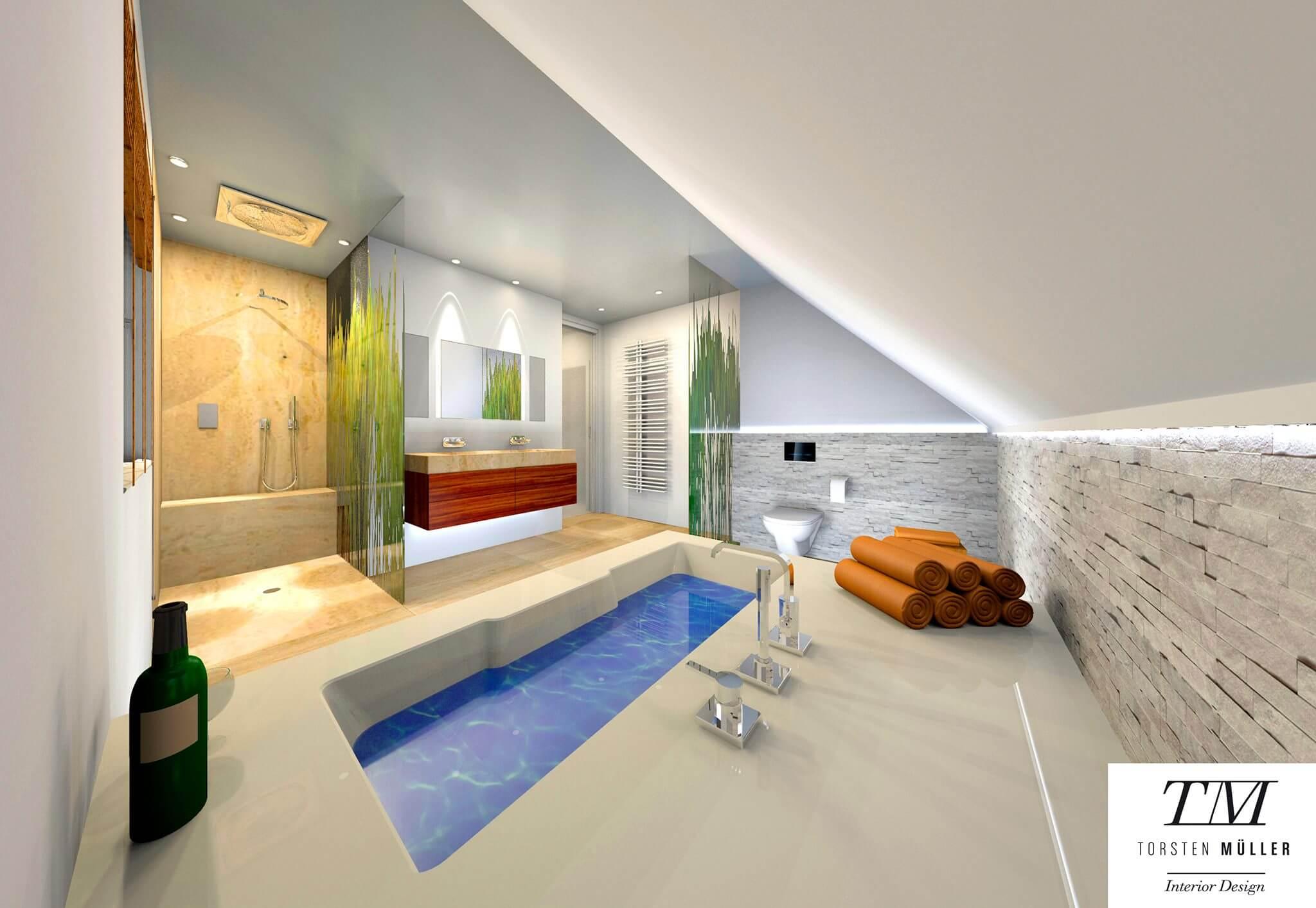 Konzept Interior-Design Lifestyle Private Spa