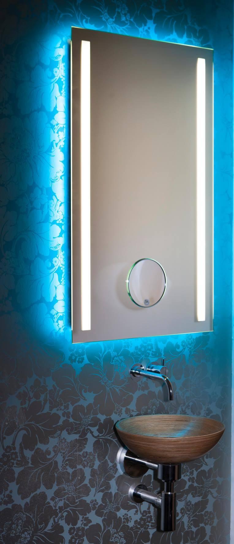 Der Lichtfarbenspiegel by Torsten Müller ist erhältlich in den vielfältigsten Größen und somit passend im Bad, Spa und Raumdesign und natürlich auch im Gäste WC einzusetzen.
