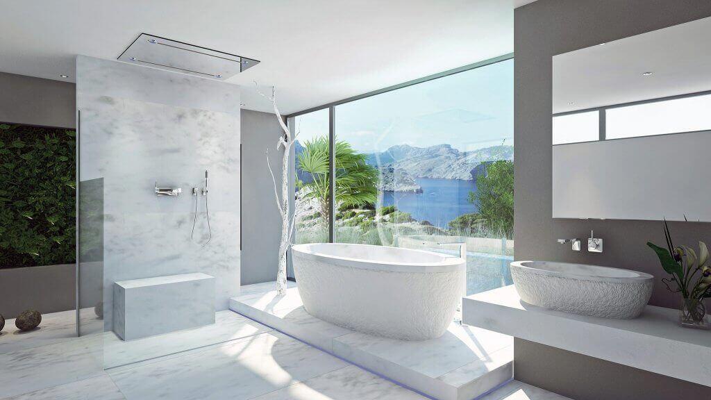 Paar Privates Badezimmer Spa