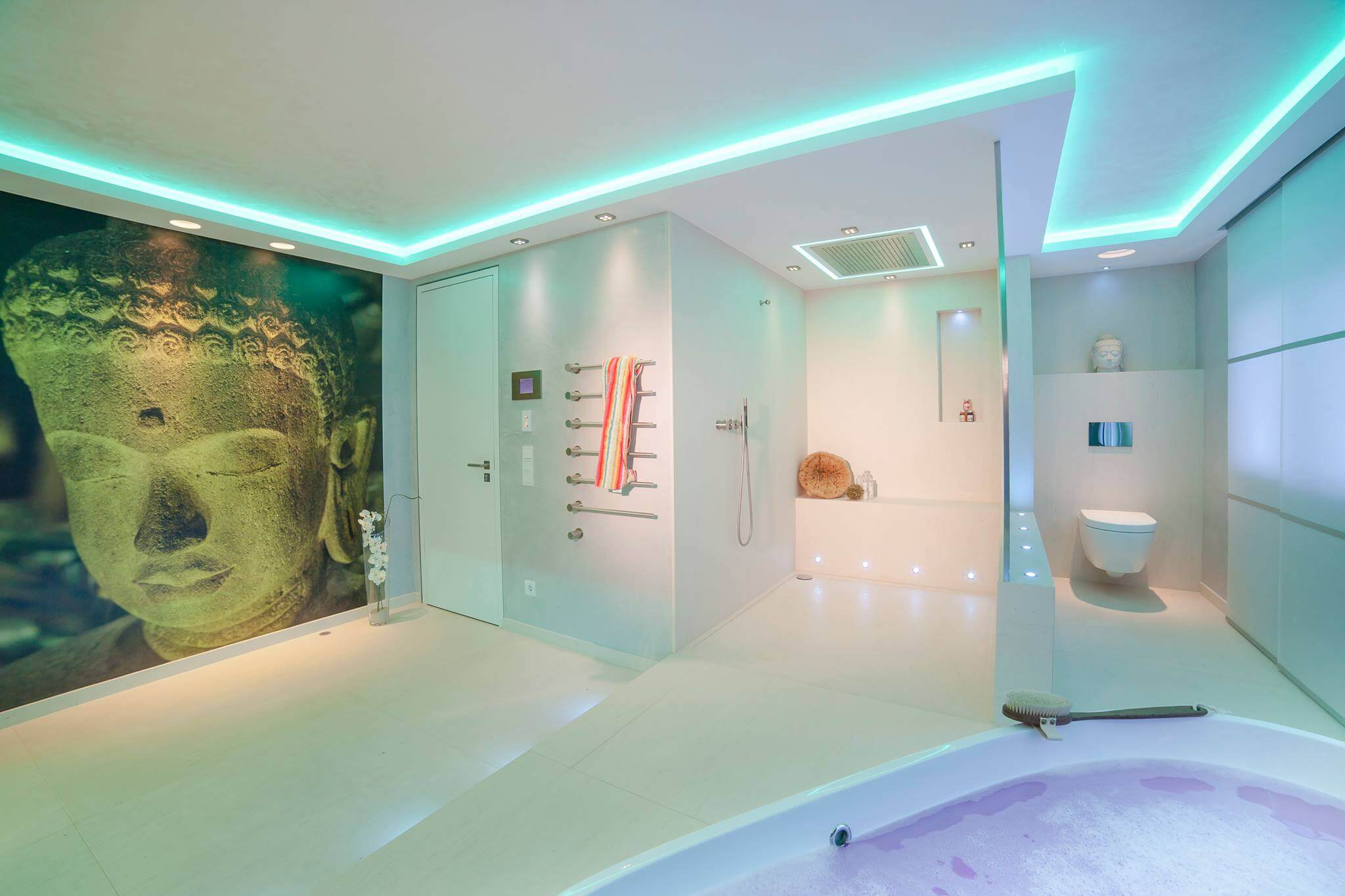 Der Passionierter Lichtdesigner Torsten Müller Ließ Es Sich Nicht Nehmen,  Sein Können Im Exklusiven Home