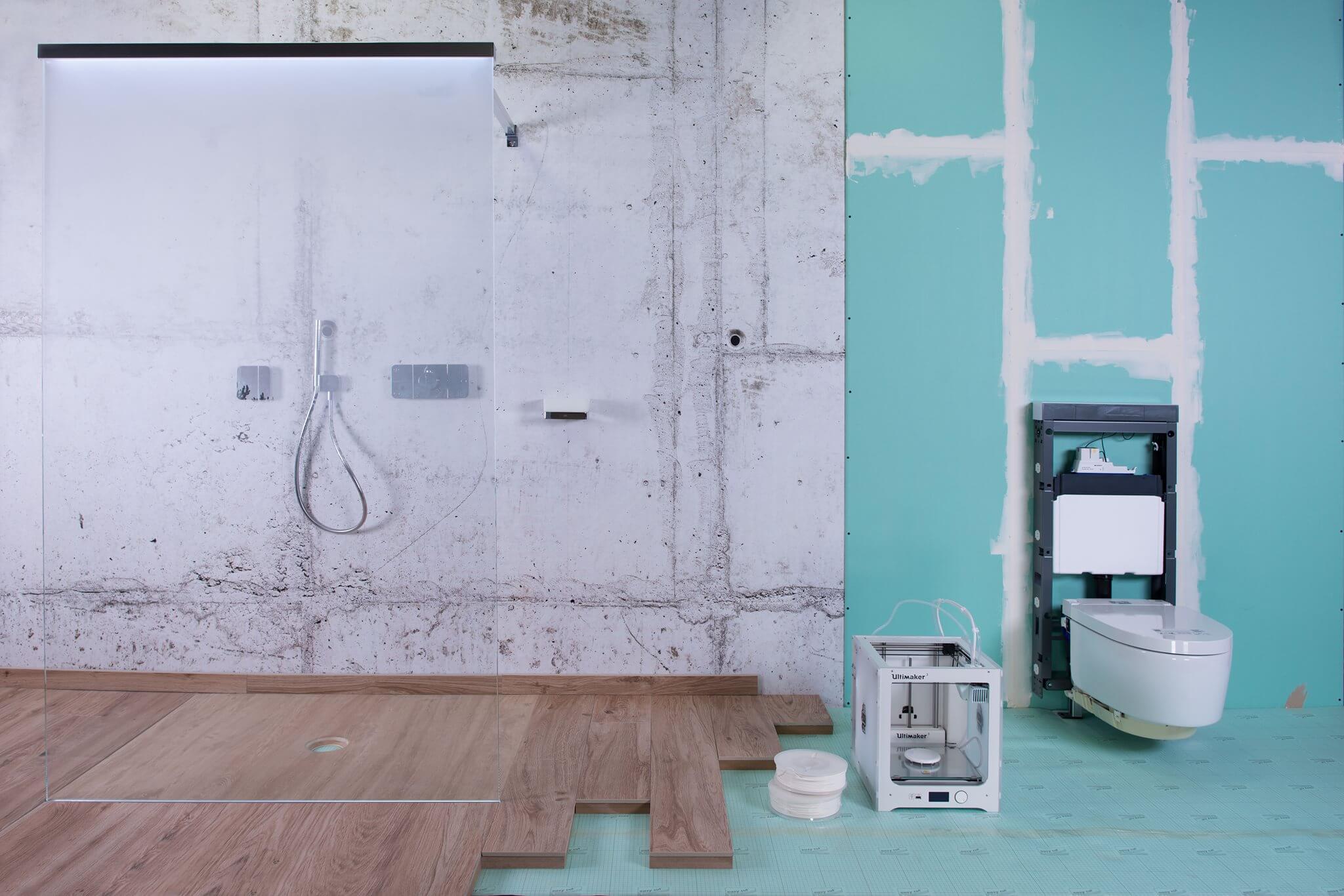 Pop up my Bathroom zeigt den Aufbruch des Bades in Richtung Customizing bei Industrie und Handwerk: Neben einem stetigen Innovationsschub aus dem Bereich Digitalisierung und Impulsen aus dem 3D-Druck wird das Innovative Bathroom neue Nutzungsmöglichkeiten erfüllen müssen – sowohl in großen als auch in kleineren Bädern.