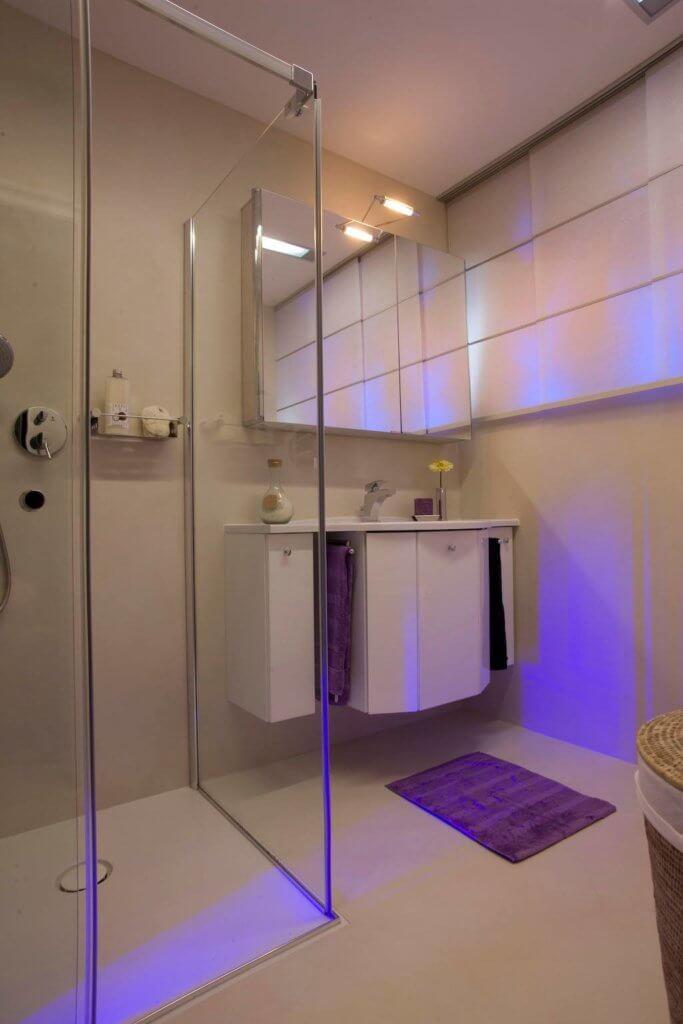 Dass Man Aus Einem Kleinen Gäste Badezimmer Sehr Viel Herausholen Kann  Beweist Der U201eSchöner Wohnen