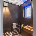 Lichtdescke im WC