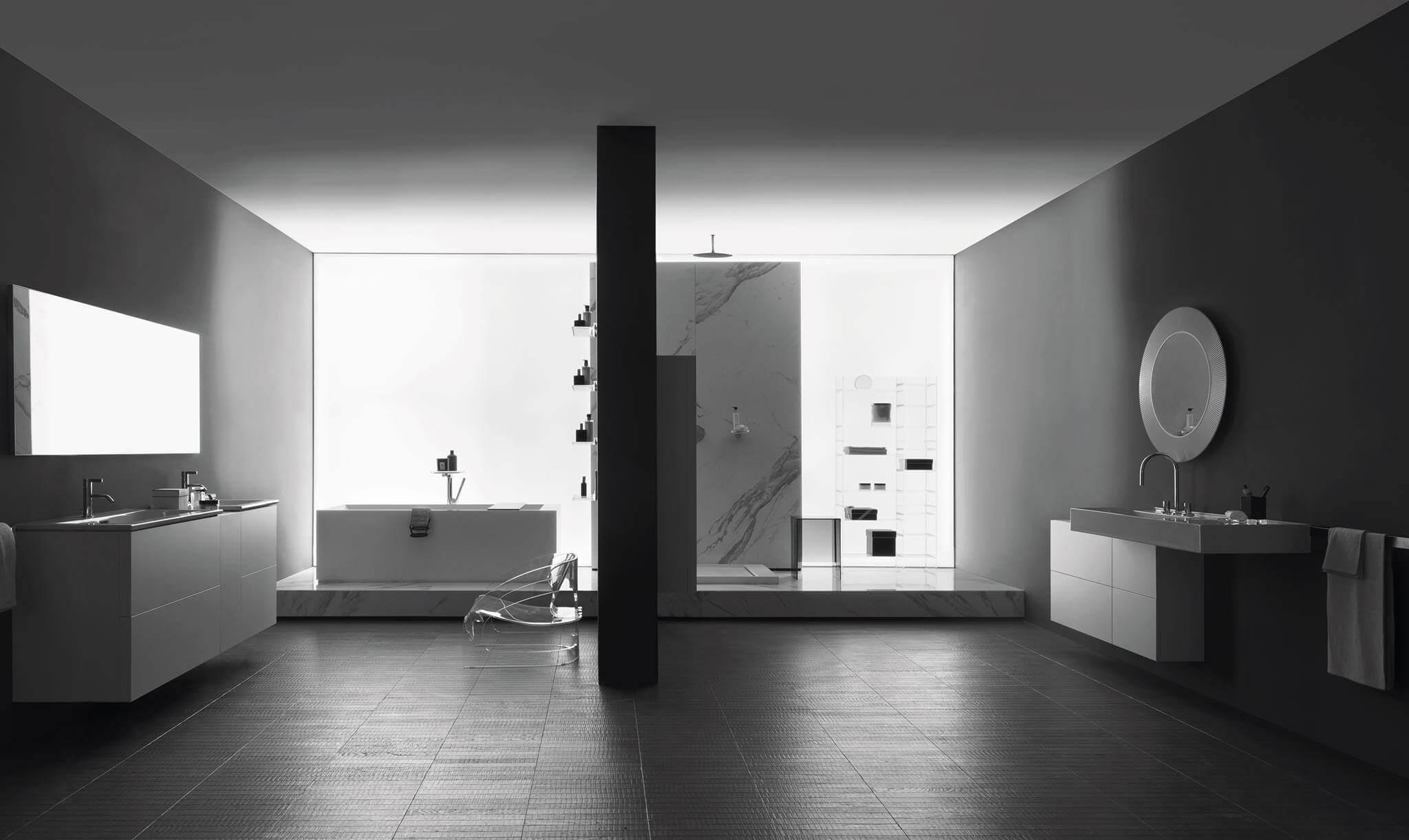laufen bathrooms prasentierte designkreationen auf der ish. Black Bedroom Furniture Sets. Home Design Ideas