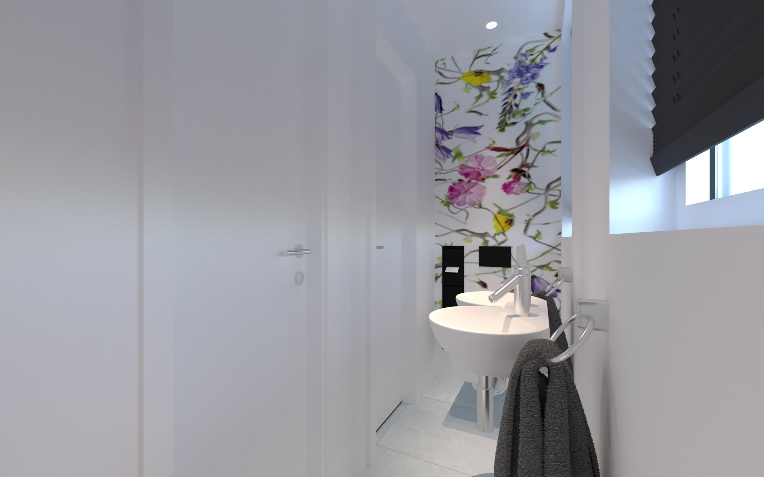 Schöne Gästetoiletten und Gästebäder von Torsten Müller