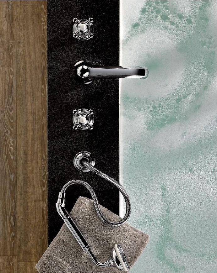 THG Paris Armaturen und hochwertiges Badezimmer-Zubehör für ihr Badezimmer Design Edler Stein, Kristallglas, Porzellan, optisches Glas, natürlicher Marmor: THG Paris wählt sorgfältig Materialien hoher Qualität zur Schaffung außergewöhnlicher Stücke. THG Paris steht für zeitlosen Luxus im privat Spa und eine außergewöhnliche Lebensart.