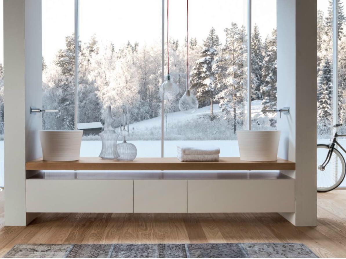 Handmade Wie handgemacht wirken die Keramikmöbel der 2013 lancierten Kollektion. Feminine Formen, die mit der ganz besonderen Haptik den Tastsinn vor neue Herausforderungen stellen verbinden Handwerkskunst mit zukunftsträchtigen 3D-Technologien.