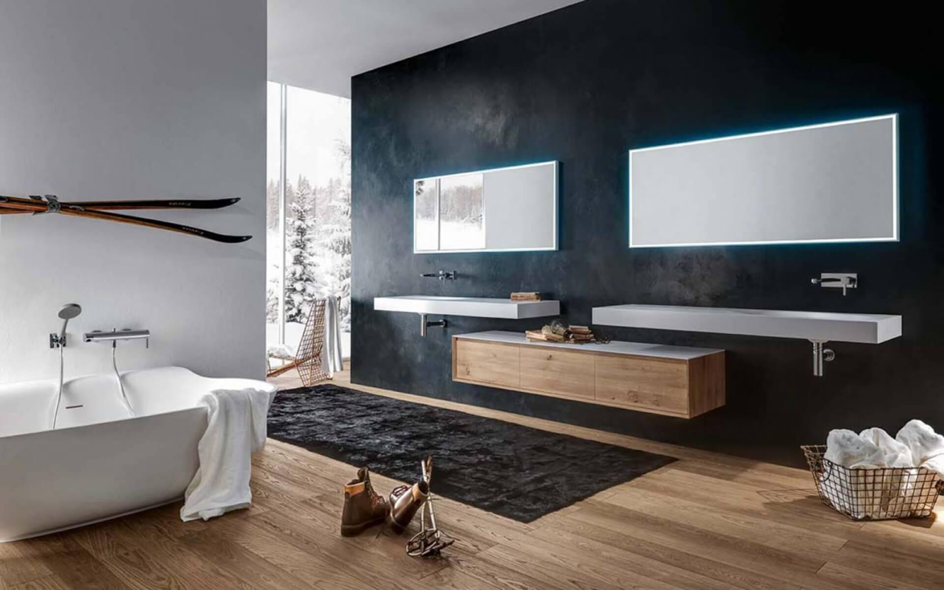 Gem tlich italienisches badezimmer design bilder die for Italienisches baddesign