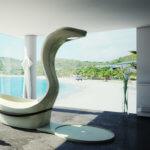 Bei diesem Objekt arbeitete das Juma Exclusive Design-Team mit Torsten Müller (Bad & Spa Design Torsten Müller) und Thomas Esser zusammen.