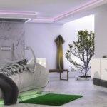 Badewanne naturstein Konzept Fussballschuh von Thomas Esser