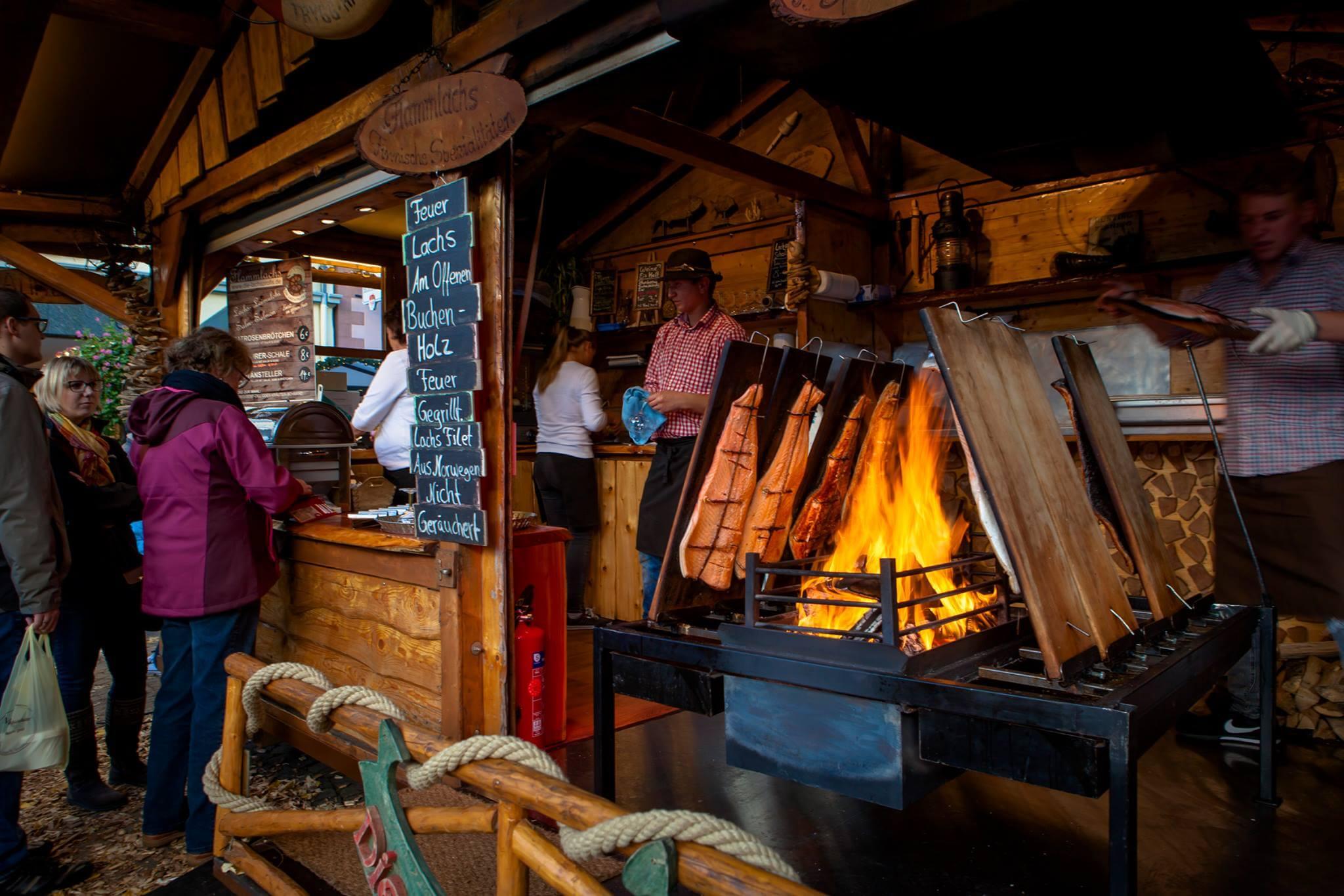Für den Gaumenschmaus wird selbstverständlich auch gesorgt sein auf dem Martini-Markt 2017 in Bad Honnef