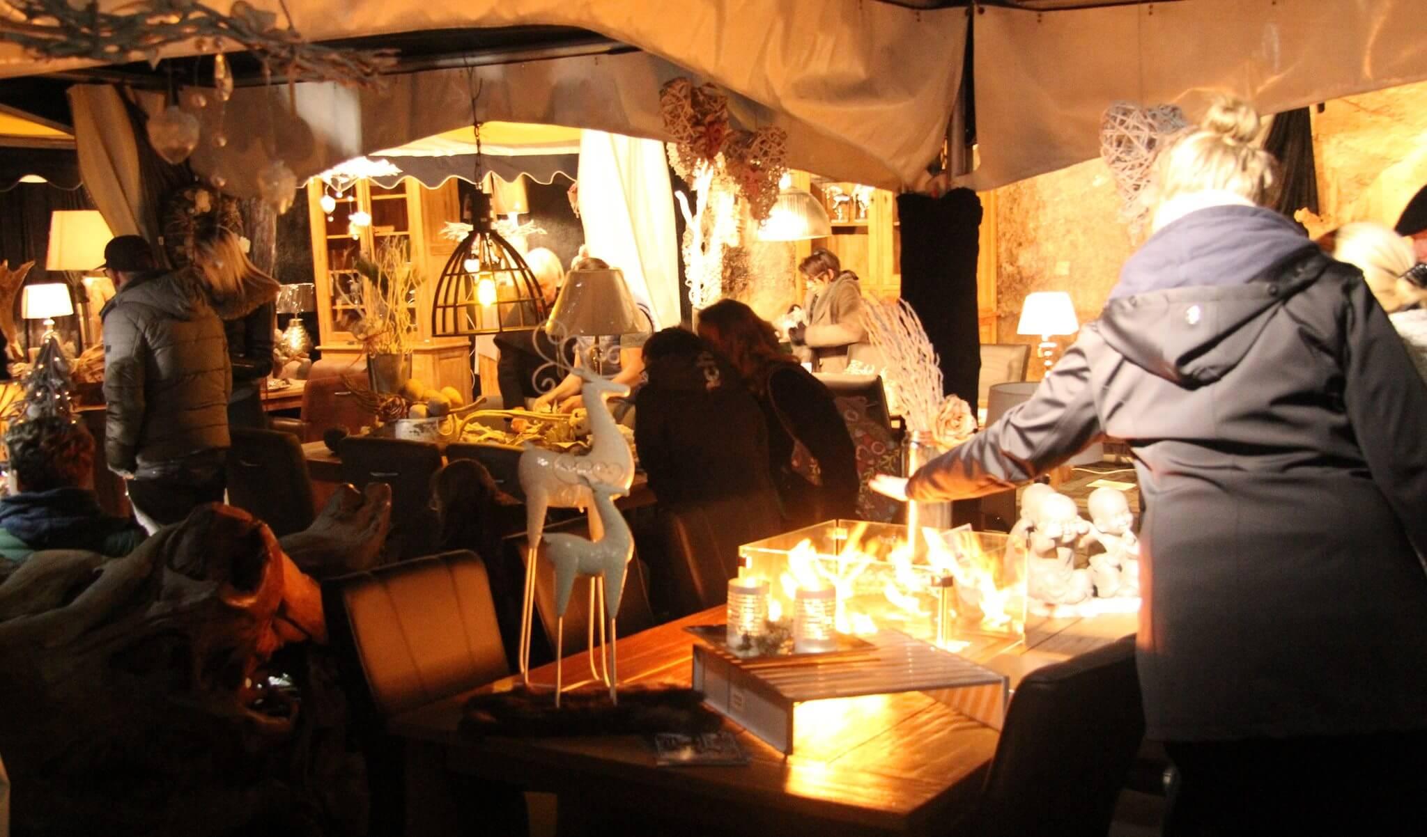 Verkauf von hochwertigen Interior-Design zum Martinimarkt 2016 in Bad Honnef dem Stadtfest in Nordrhein Westfalen