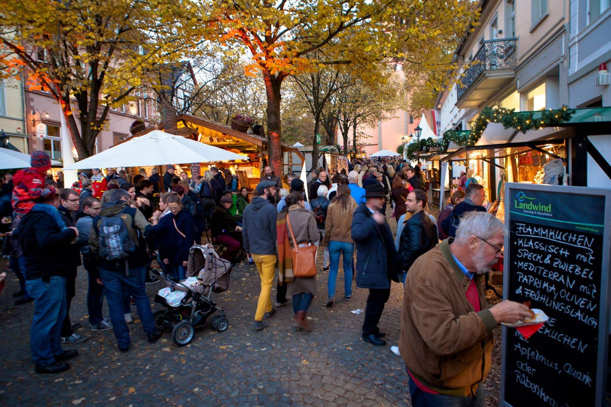 Nicht nur Abends ein Garant für eine zauberhafte Atmosphäre Martinimarkt 2017 Bad Honnef