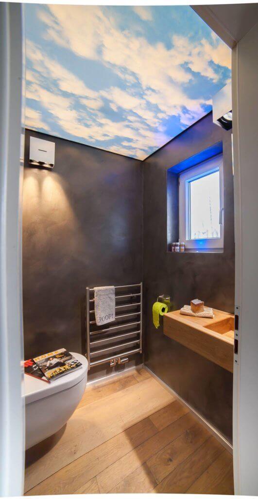 g ste wc mit lichtdecke die visitenkarte des hauses. Black Bedroom Furniture Sets. Home Design Ideas