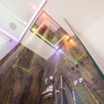 Duschen als Erlebnis mit der Luxusdusche Sensory Sky ATT von Dornbracht