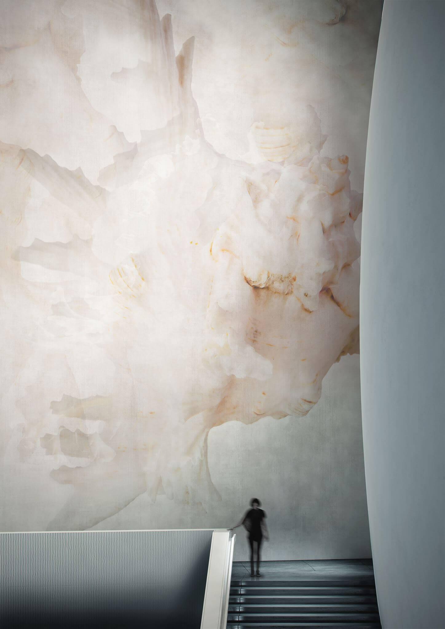 Cersaie 2017 Designexperte Torsten Mueller Baddesign Lifestyle Schoener Wohnen Trends News Wandtapete Glamora METAMORFOSI Evolution Collection