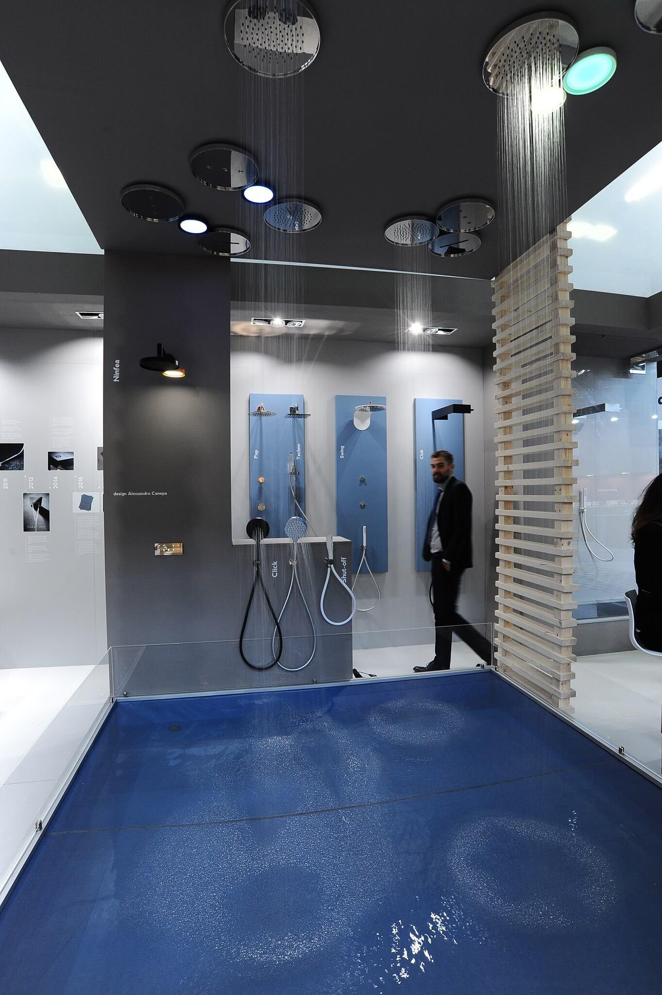Duschen für das Badezimmer Design als Deckenbrause oder auch als Handbrause