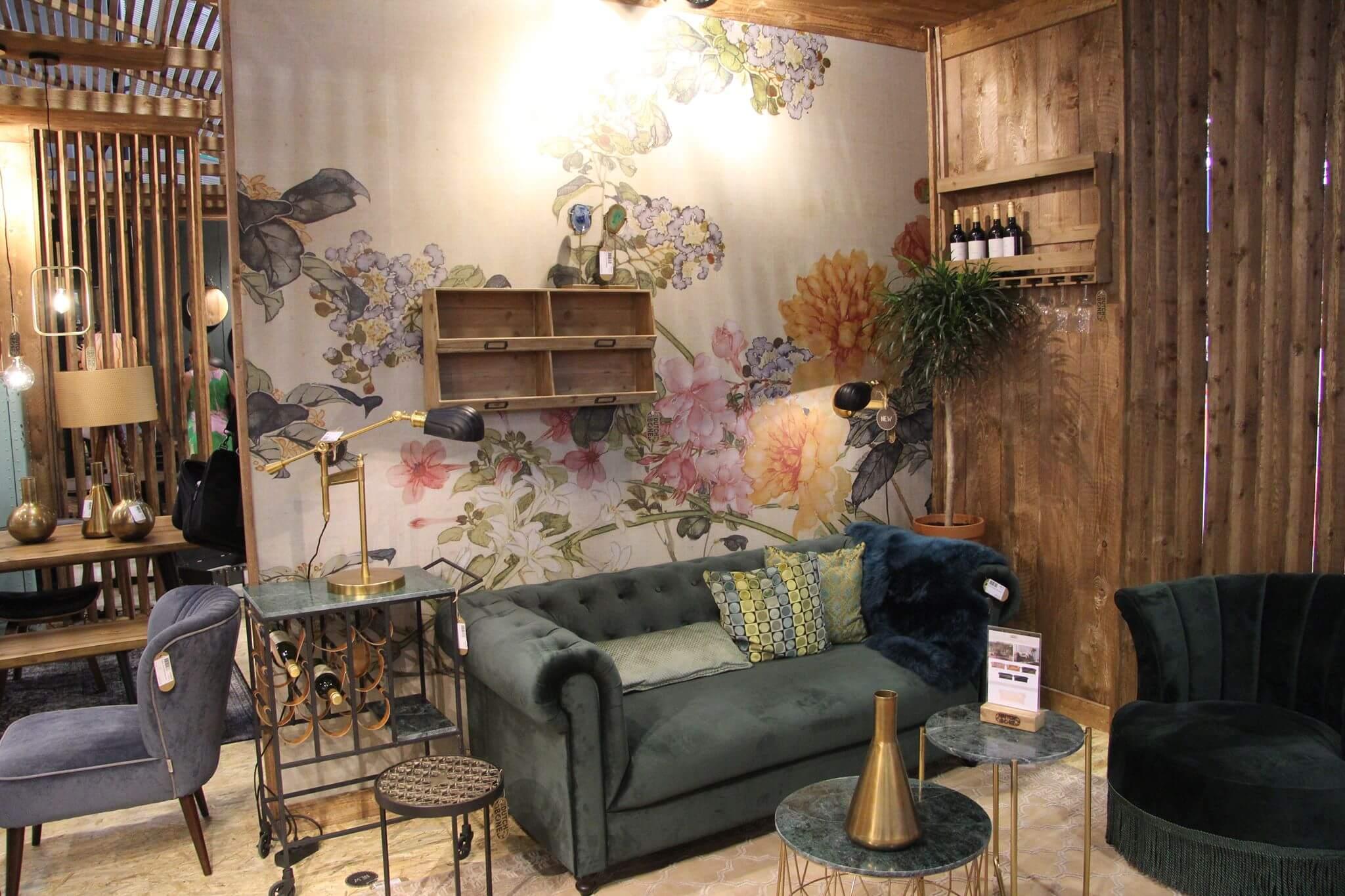 Maison Interieur Design. Chesterfild Sessel Als Stuhl Maison Home ...