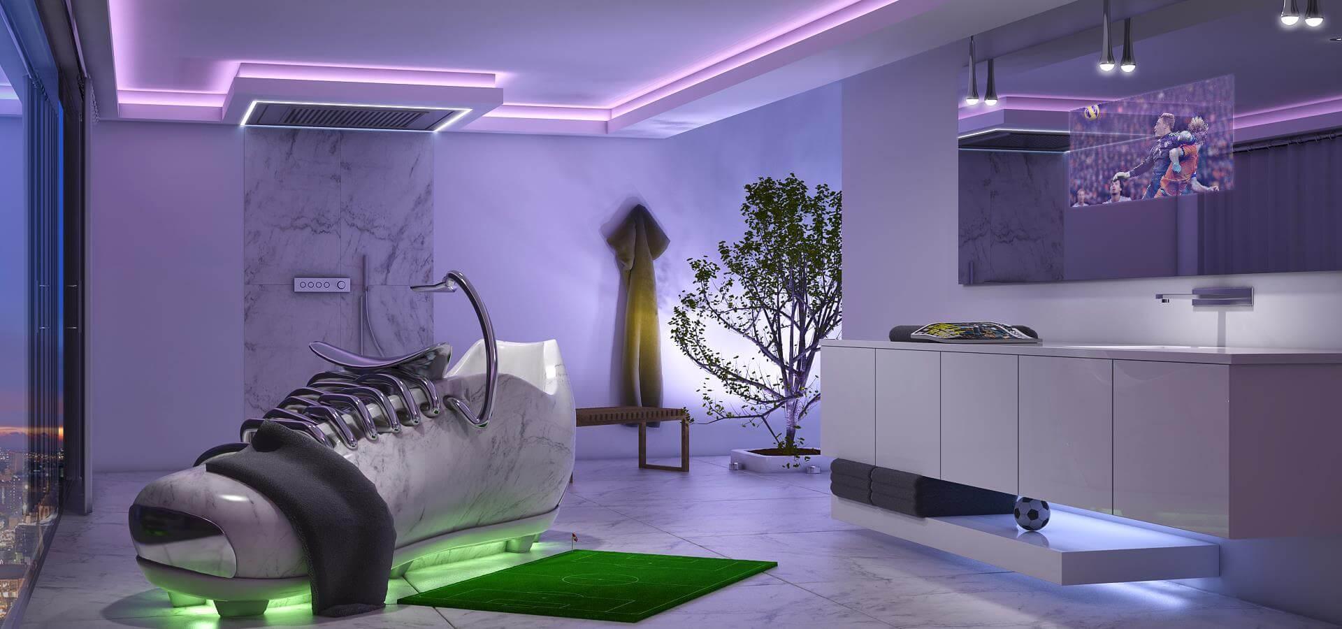 Lichtdesigner Torsten Müller bringt Magie in Ihren Raum für alle Sinne