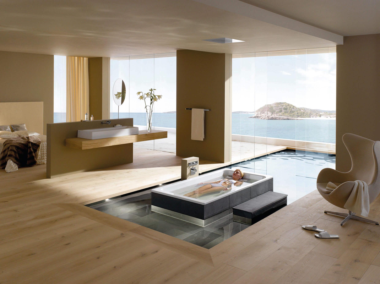 Badewanne für Bad Spa und Architektur