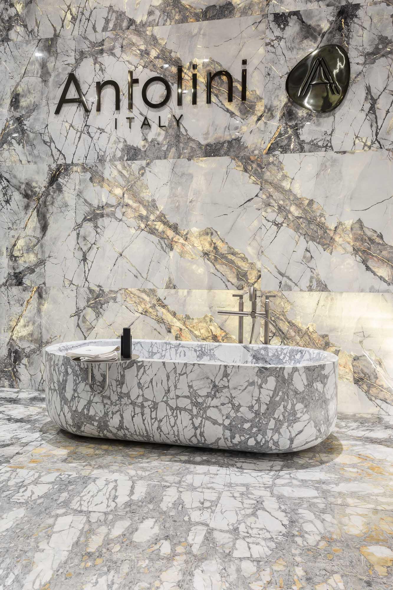 Taktile Raffinesse Mit Einem Wellness Akzent: Antolini Naturstein  Präsentiert Auf Der Maison U0026 Objet