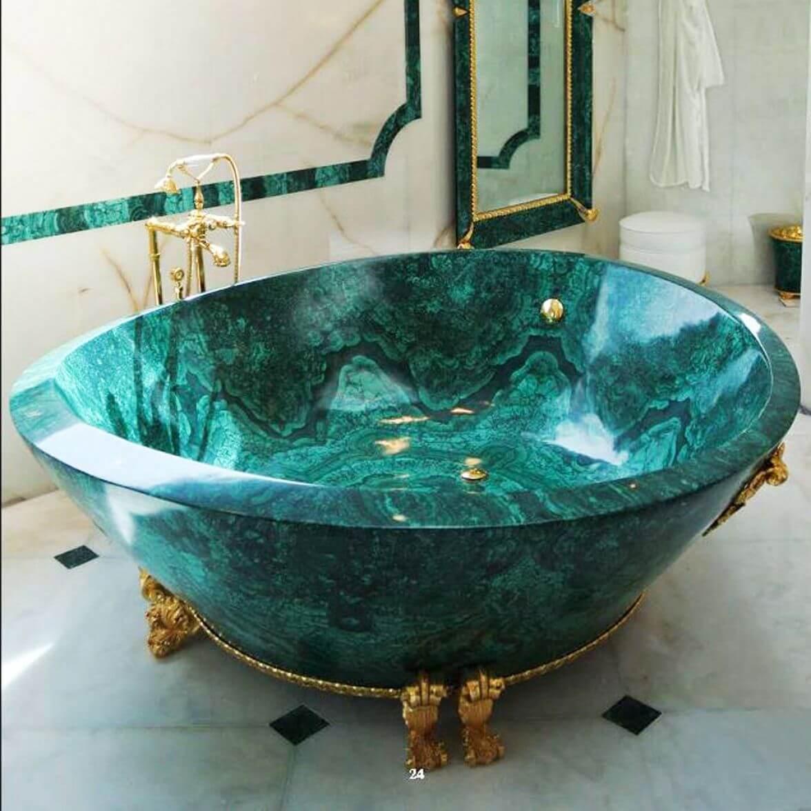 Teuerste Badewanne der Welt