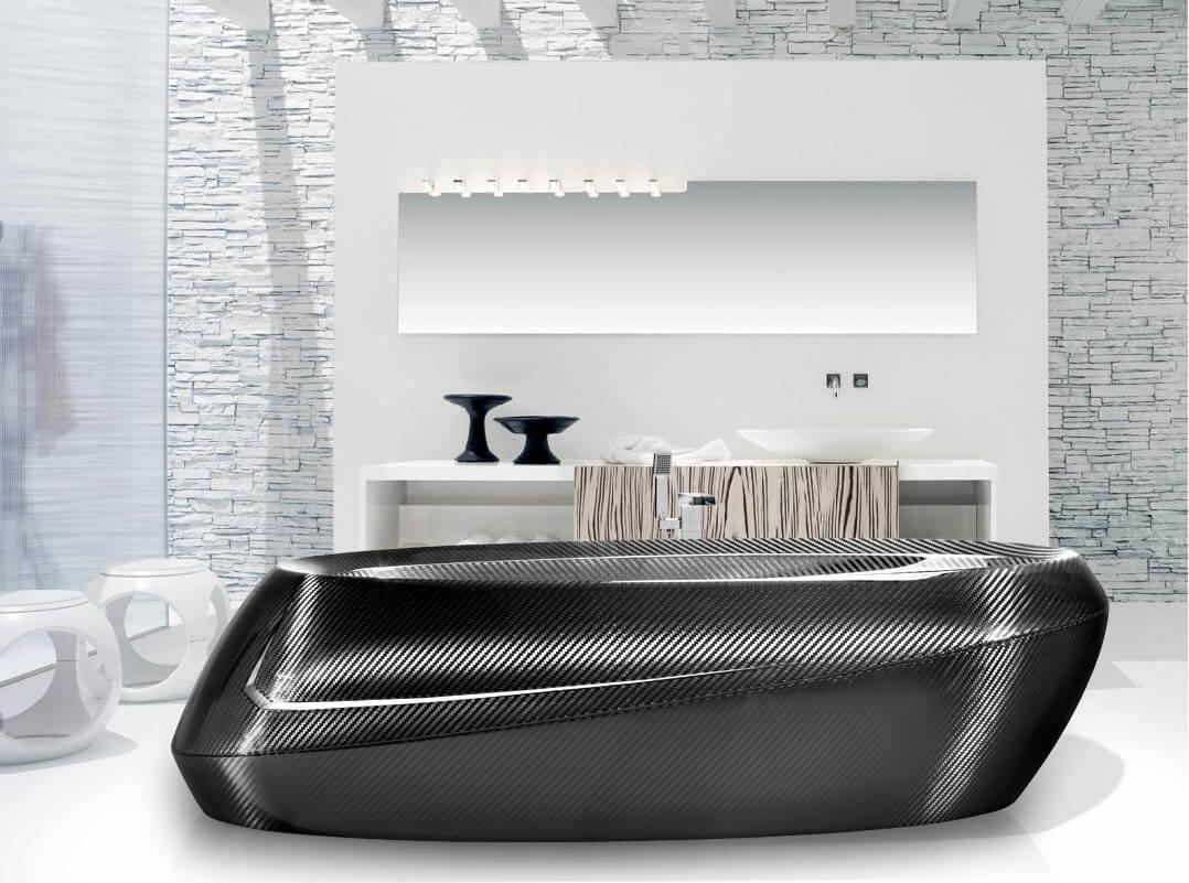 Carbon Badewanne Luxurioser High Tech Im Badezimmer