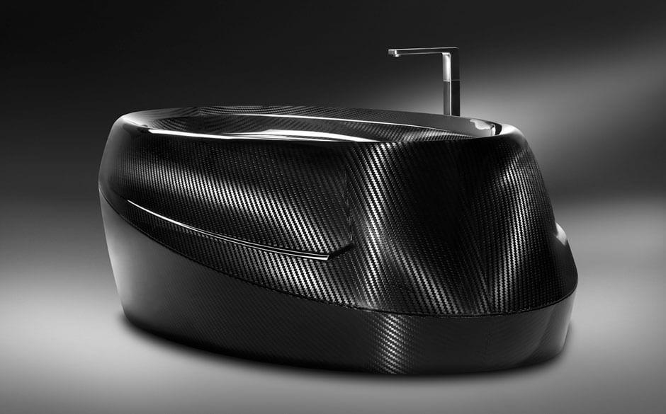 Luxus Carbon Badewanne: Design und Planung