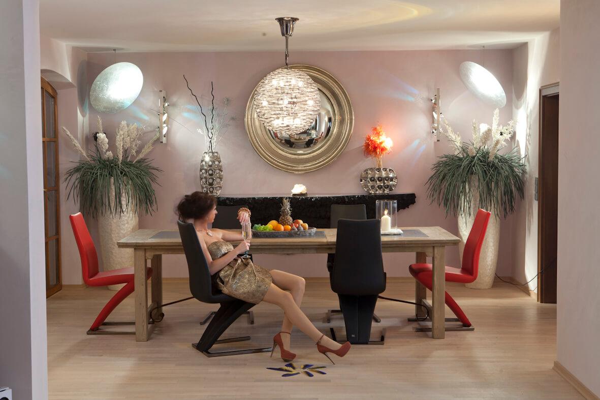 Moderne Esszimmer Stilvoll Speisen Und Trinken Torsten Muller