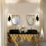 Maison Valentina ist ein neues Luxusbad Markenkonzept mit High-End-Lösungen wie Badewannen, Waschbecken und freistehende Waschbecken, Spiegel, Beleuchtung, Case-Produkte und andere Produkte mit der feinsten Auswahl an Materialien wie Messing, Marmor, Holz, Glas, kombiniert mit seltene Handarbeitstechniken und zeitgenössisch