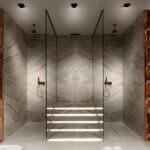 Antolini Natursteine in Bad und Spa Design Salone del Bagno