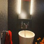 Im Gäste WC die richtige Beleuchtung