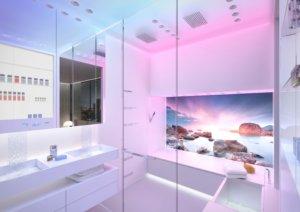 Planung Beratung Verkauf Design by Torsten Mueller aus Bad Honnef naehe Koeln Bonn Horizontal-Shower-by-Dornbracht Spa- und Bad-Architektur