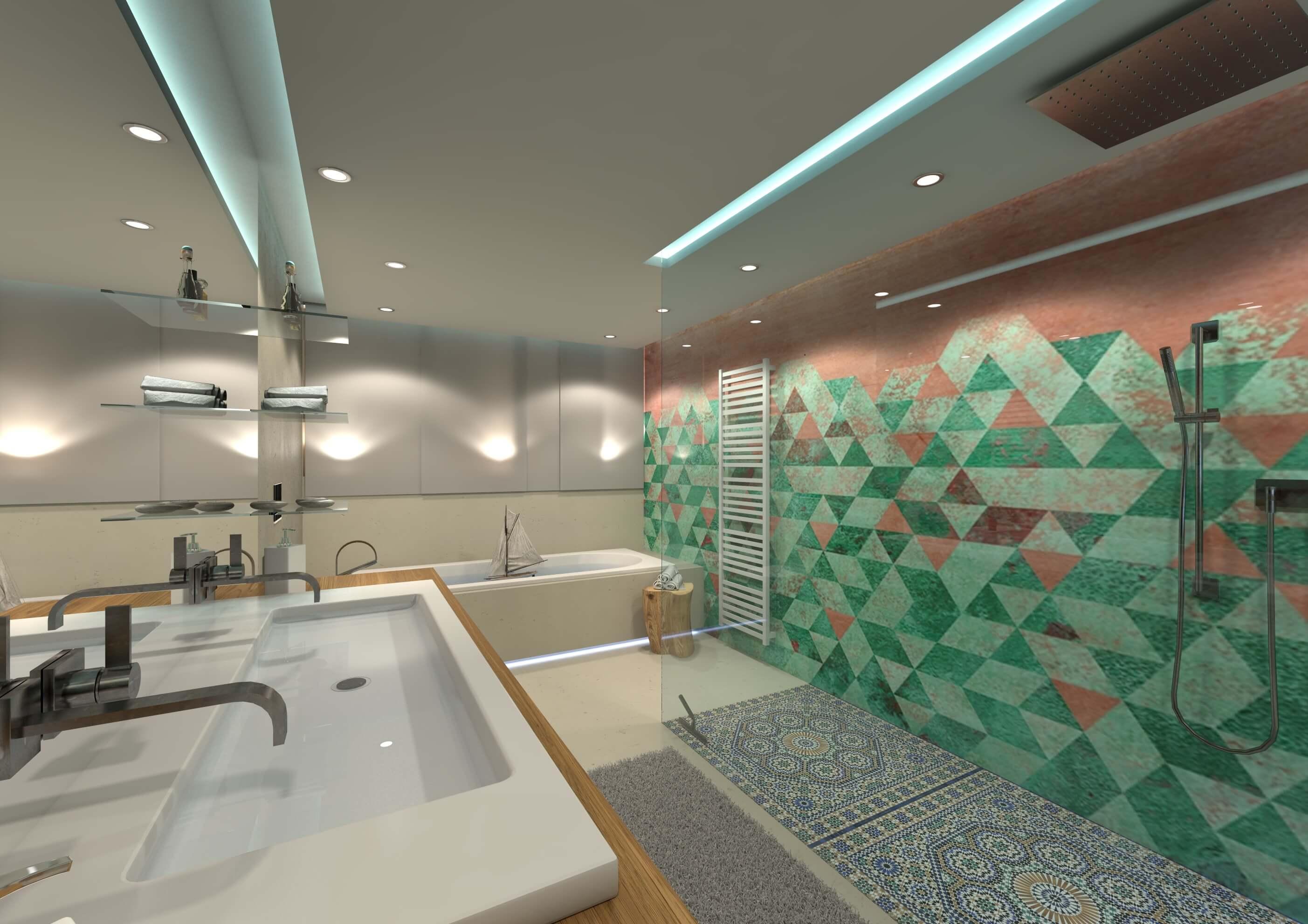 Wall and Deco Wet System: Tapeten für das Luxusbad