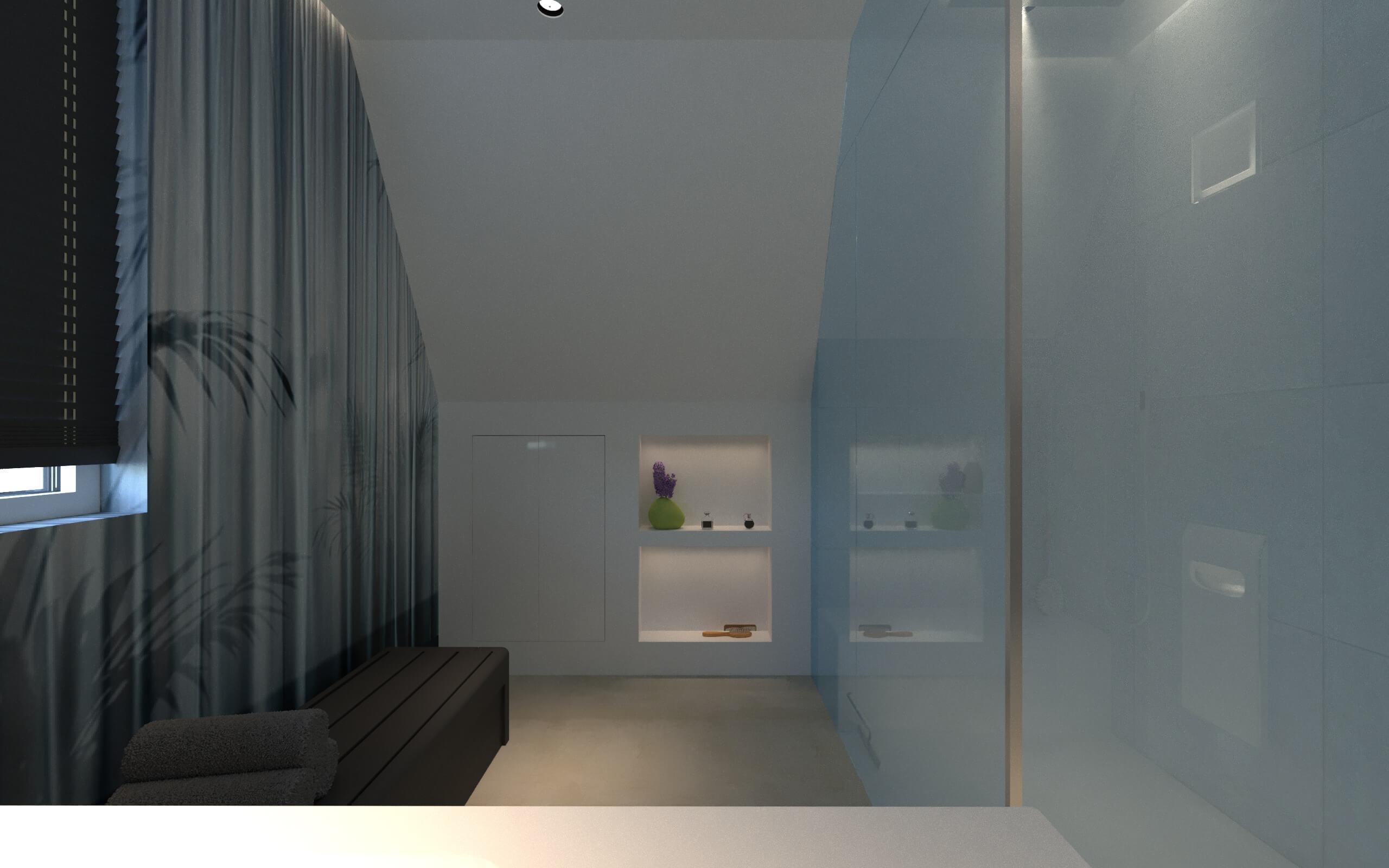 Es Handelt Sich Um Eine Tapete Mit Patentanmeldung Für Bad Dusche Und Feuchte Räume