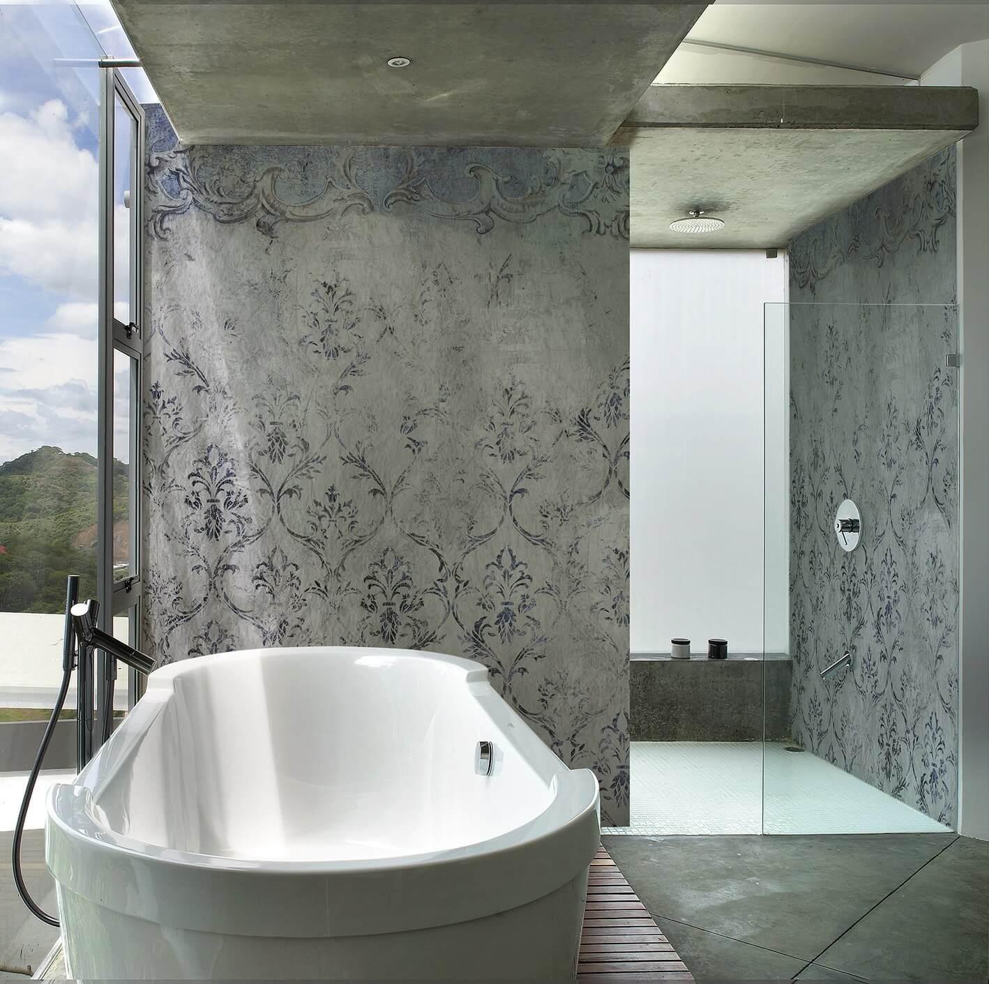 Wall and Deco Wet System | Tapeten für Ihr Luxusbad💎