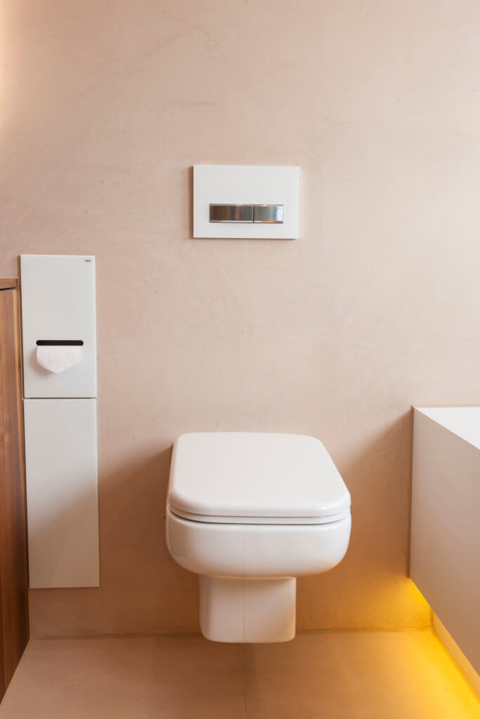 Modernes Bad Design mit Wall and Deco Wet System Tapeten