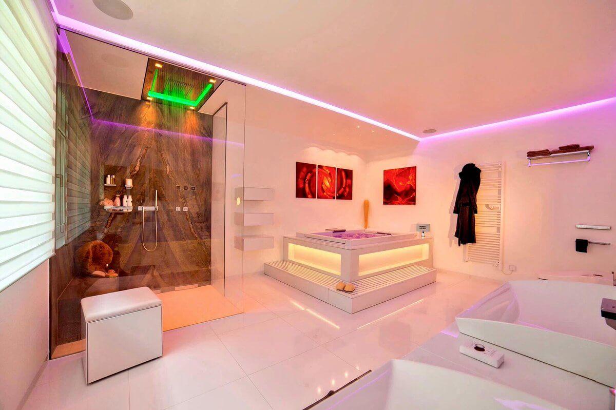 Trend Farbe weiss Designer Torsten Müller Bad Spa Interior Design Beratung Planung Konzepte Bad Honnef Bonn Koeln Muenster Duesseldorf Frankfurt 2018